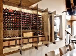 modern wine cellar racks home