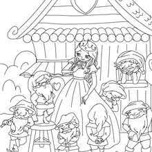 snow white coloring pages free games videos kids