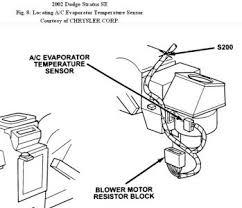 2002 dodge stratus blower motor electrical problem 2002 dodge