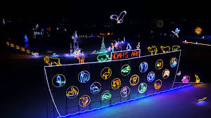 enchanted forest christmas lights bhp billiton enchanted forest light tour youtube