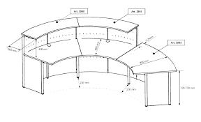 Ada Reception Desk Reception Desk Counter Height Beautiful Standard Ada Interque Co