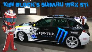 subaru wrx decal forza motorsport 4 design showcase ken block u0027s monster energy