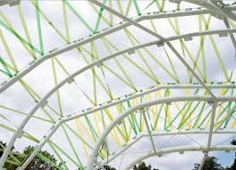 Selgas Cano Architecture The 2015 Serpentine Gallery Is A Colorful Cocoon That Filters