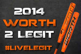 worth legit fastpitch bat introducing the new 2014 worth 2 legit fastpitch bat