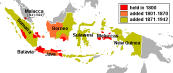 netherlands east indies map in indonesia ap world wiki