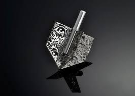 metal dreidel royal jacquard