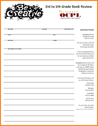 4th grade book report sample report 6th grade format book report 6th grade format