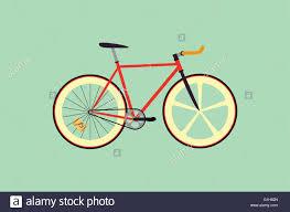 fixie design fixie bike flat design vector illustration stock vector
