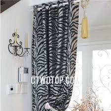 world design encomendas zebra print curtains