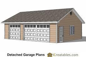 cabin garage plans 24x34 garage plans 3 car garage plans 2 doors