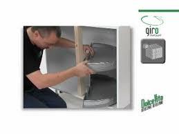 tourniquet pour meuble de cuisine de montage du plateau tournant pour meubles d angle dolce