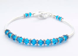 Making Swarovski Jewelry - tubular bracelet kit with swarovski elements beginner jewellery