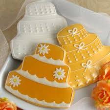 Wedding Cake Cookies Wedding Cake Cookies Decorated Cake Shape Cookies