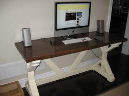 ana white fancy x desk diy projects fancy computer workstation
