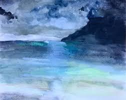 moonlight on water etsy