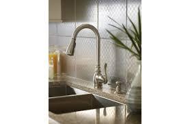 moen terrace kitchen faucet kitchen image of vintage shape folding brushed stainless