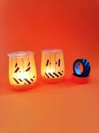 Halloween Washi Tape by Diy Cómo Hacer Un Portavelas Para Halloween El Bigote Y La