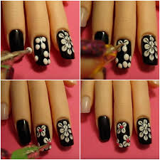 video nail tutorial gorgeous flower nail designs and make your