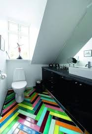 chevron bathroom ideas 25 best bright bathrooms images on bright bathrooms