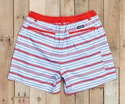 American Flag Swimming Trunks Southern Marsh Collection U2014 Dockside Swim Trunk Stripes