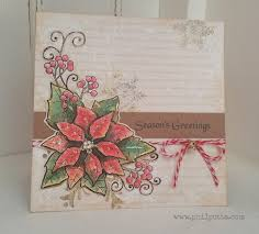 woodware poinsettia corner stamp google search woodware xmas