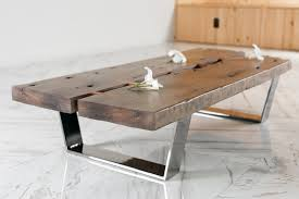 vintage wood coffee table antique ship beam coffee table by faisal malik design