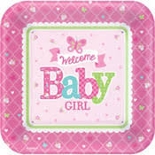 baby girl shower themes baby shower themes baby shower tableware party city