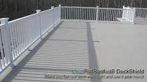 Replacing A Deck With A Patio Flat Roof Decks And Patios Cool Flat Roof