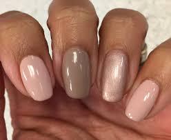 bluesky qxg312 af04 warm taupe u0026 copper rose nails pinterest
