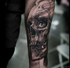 83 fancy skull tattoos for arm