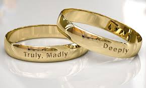 wedding quotes engraving and extremely sweet quotes to engrave on promise rings