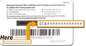 get an itunes gift card can t read the numbers on itunes gift card here s help