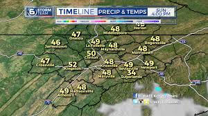 Map Of East Tennessee by Some In East Tennessee Will See Snow Tonight Wate 6 On Your Side