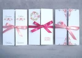 gatefold wedding invitations personalised handmade gatefold wedding invitations cards with