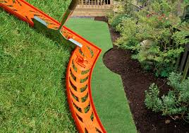 decor lowes garden edging metal landscape steel landscaping ties