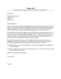 sample cover letter programmer templateinformation technology