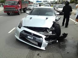 nissan cars in malaysia may nissan gt r gives l driver of a perodua a tough crash lesson in