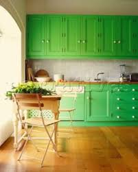 Green Painted Kitchen Cabinets A Traditional Italian Kitchen Design With A Red Aga Stove 3 Of 3