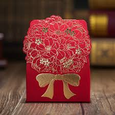 wedding gift decoration flower wedding gift bag box decoration floral lover party