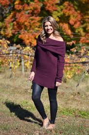 Off Shoulder Tunic By Lauren M Off The Shoulder Tunic