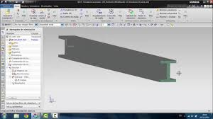 nx9 nastran cae advanced simulation 3d beam fem simulation