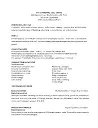 professional marketing resume marketing resume 2017