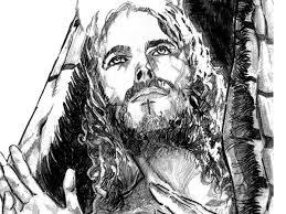 wonderful pencil drawings of jesus art pinterest drawings