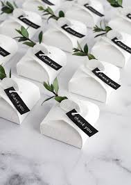 3 simple and modern diy wedding favors homey oh my