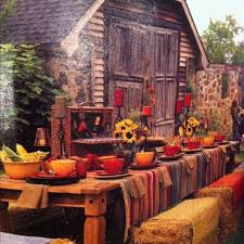 29 best 2014 thanksgiving outside table setting images on