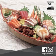 deluxe cuisine fuji sashimi deluxe ปลาด บช ดอย างด ว ตถ ด บค ณภาพ
