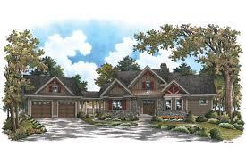House Plan With Detached Garage | craftsman charmer with detached garage hwbdo75767 craftsman from