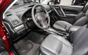 subaru forester interior 2017 subaru forester review and photos