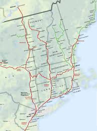 Boston Marathon Route Map by North East New England Amtrak Route Map Super Easy Way To Get To
