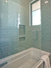 Glass Bathroom Tile Ideas Glass Tile Bathroom Designs Of Goodly Ideas About Glass Subway